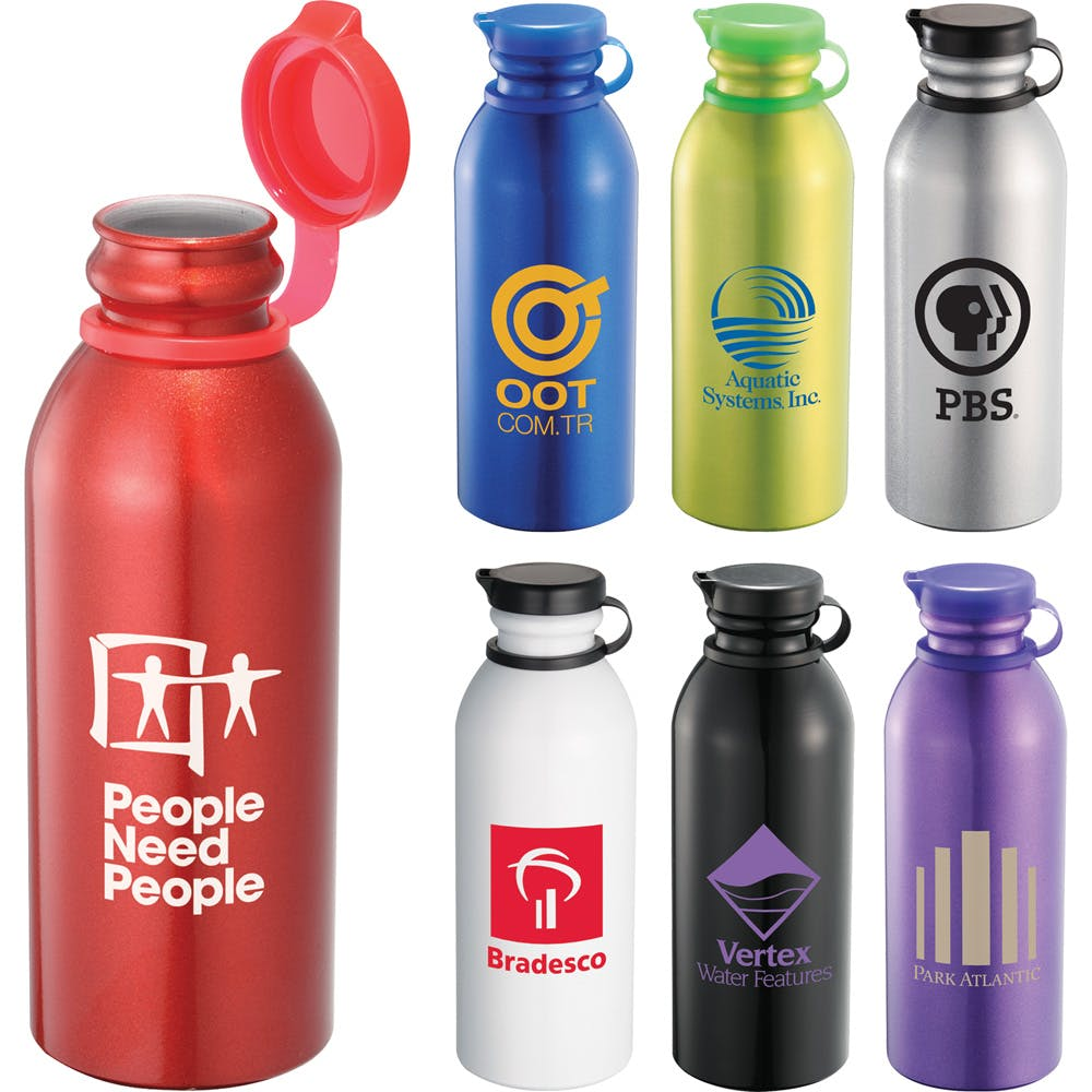 24 Oz. Aluminum Bottle (Item #TBEQS-IJFYL) Promotional water bottle sold by InkEasy