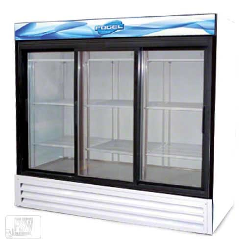 "Fogel - VR-67-SD-US 73"" Sliding Glass Door Merchandiser Commercial refrigerator sold by Food Service Warehouse"