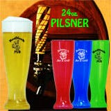 24 oz Pilsner Beer glass sold by 1 Custom Promotions
