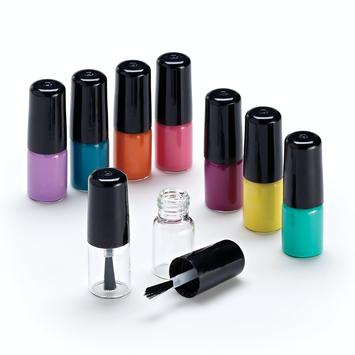 Mini Nail Polish Bottle Cosmetics bottle sold by Qosmedix