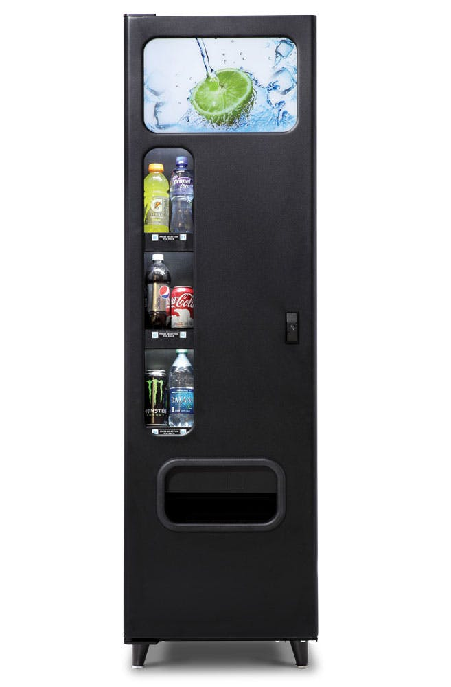 6 Select Drink Machine Vending machine sold by Universal Vending Consultants