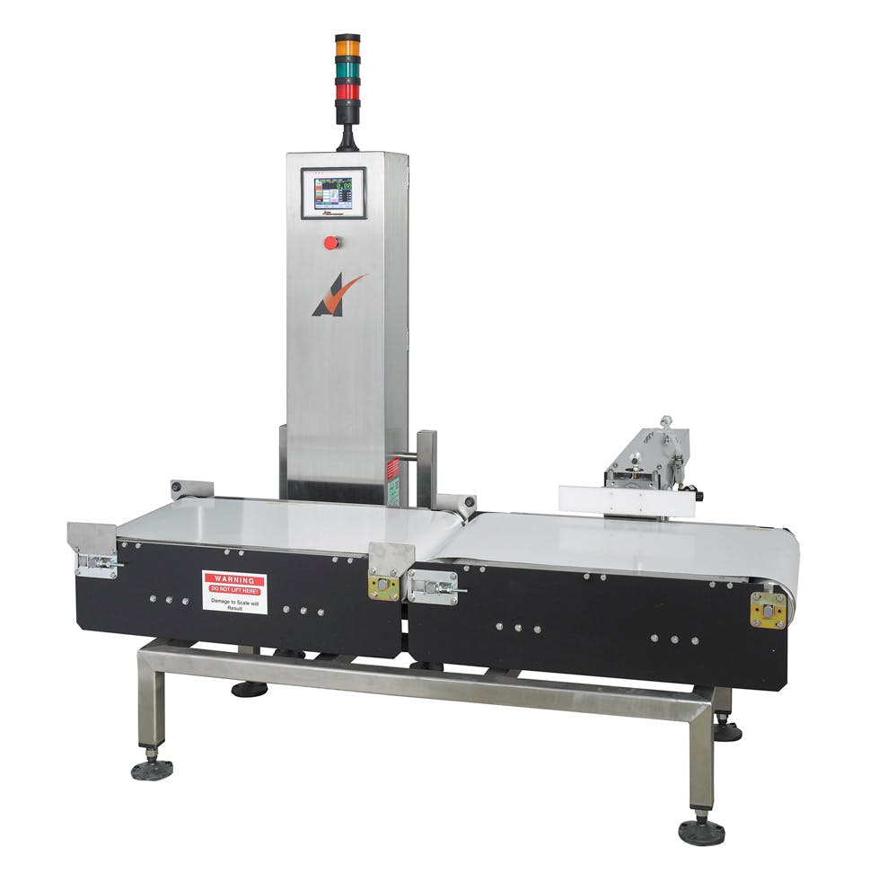 Model HW-15 Checkweigher sold by All-Fill