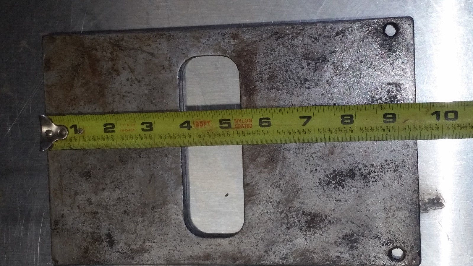 """Patty O Matic Patty Maker Former Forming Seal Plate 1/4"""" - sold by Jak's Restaurant Supply"""