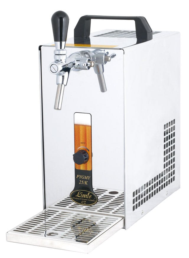 PYGMY 25/K Beverage dispenser sold by Tap Your Keg, LLC