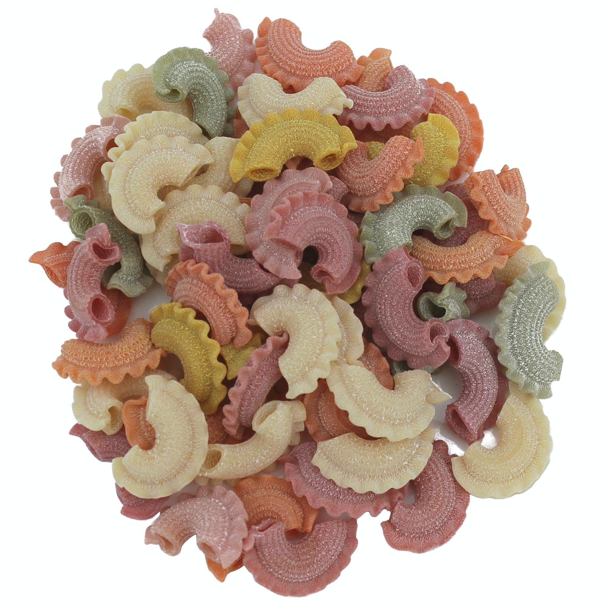 "Rooster Combs ""Galletti"" Colored Pasta Pasta sold by M5 Corporation"