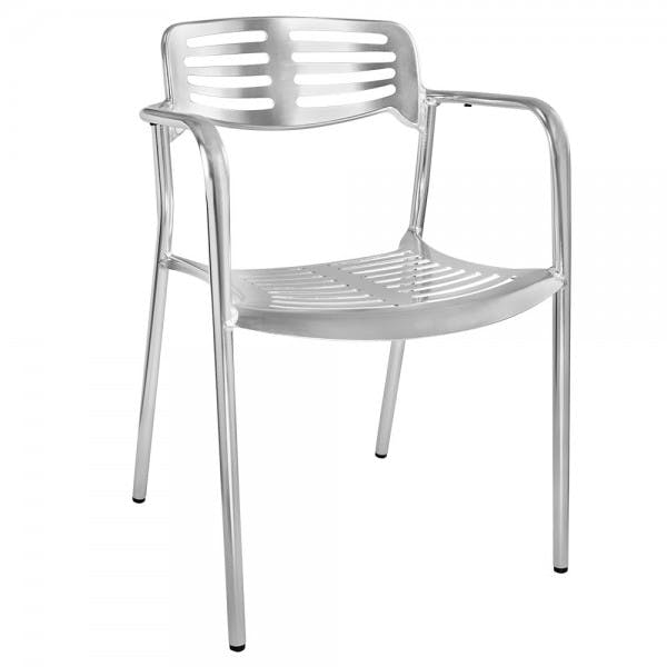 Heavy Duty Anodized Aluminum Outdoor Chair