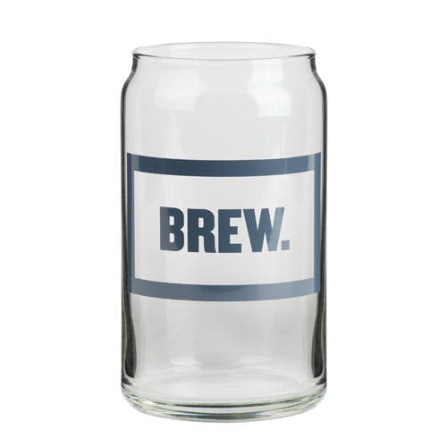 Beer Can Glass (Item # MHKIU-JXIJP) Beer glass sold by InkEasy