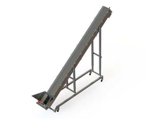 Ground Meat Auger Screw conveyor sold by Fusion Tech Integrated Inc.