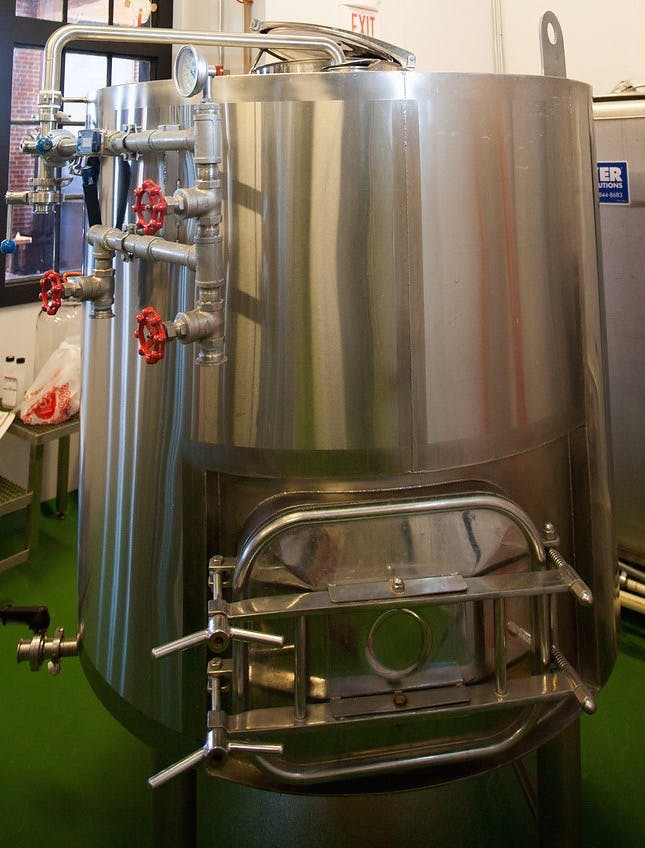 7bbl mash tun - Custom Brewhouse - sold by TigPro Inc