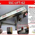 Conveyor SSC-LIFT-62 Stainless Steel Industrial Lift ,Food Grade Belt - Conveyor sold by Pro Fill Equipment