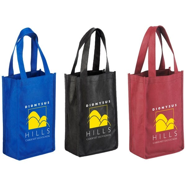 2-Bottle Wine Bag (Item # RIJJL-HKZDA) Wine bag sold by InkEasy