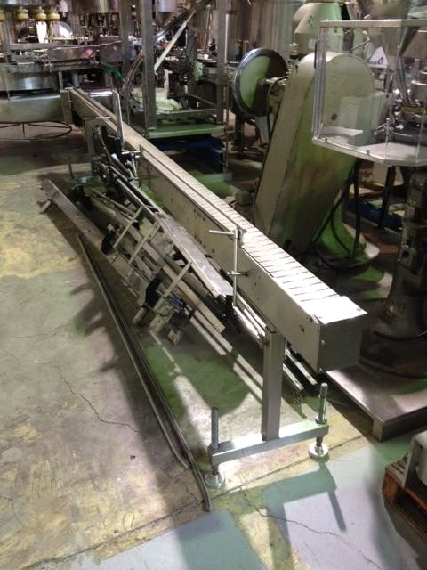 Stainless Steel Table Top Conveyor - 15.5' long Conveyor sold by Aevos Equipment
