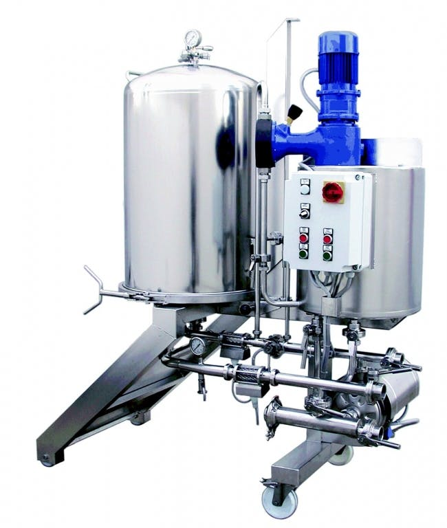 ITALfilters DEA 10 BEER(BA) filtration Brewing filtration sold by Prospero Equipment Corp.
