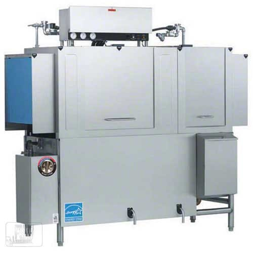 "Jackson - AJX-76 209 Rack/Hr Low-Temp Conveyor Dishwasher w/ 22"" Prewash Commercial dishwasher sold by Food Service Warehouse"