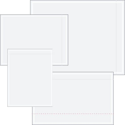 Clear Face Document Envelopes Envelope sold by Ameripak, Inc.