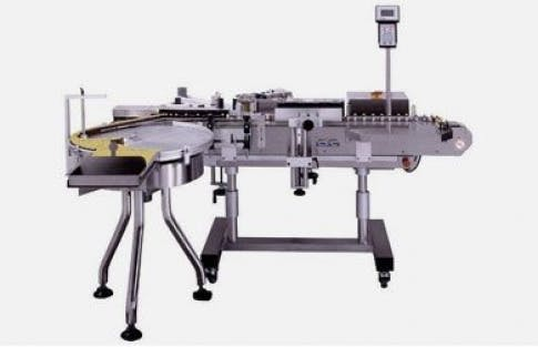 Vial Labeler, Model 330 Bottle labeler sold by ACASI Machinery