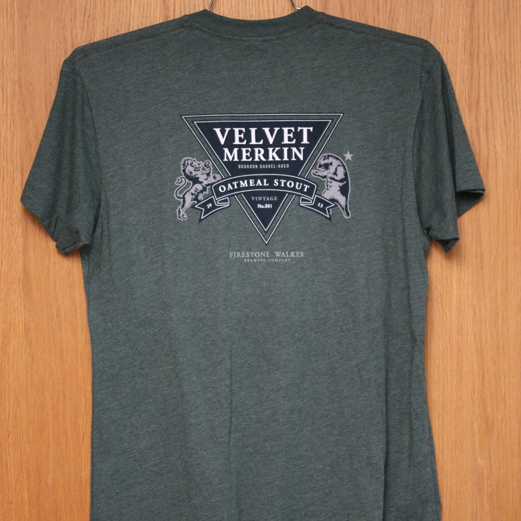 50/50 Tee - Firestone Walker - Velvet Merkin Promotional shirt sold by Brewery Outfitters