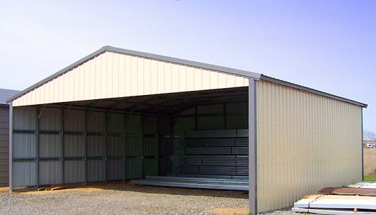 32 - 100 wide clear span building Metal building sold by NW Custom Structures