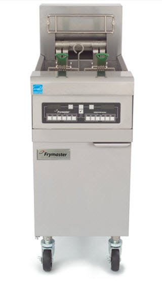 Frymaster RE14-TC Electric Fryer (50 lb Oil Capacity) Commercial fryer sold by pizzaovens.com