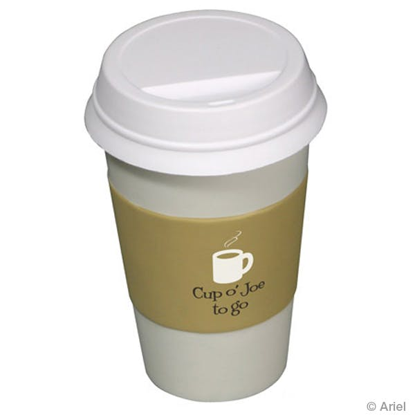 Ariel :: To Go Coffee Cup - LFD-TG07 Stress reliever sold by Distrimatics, USA