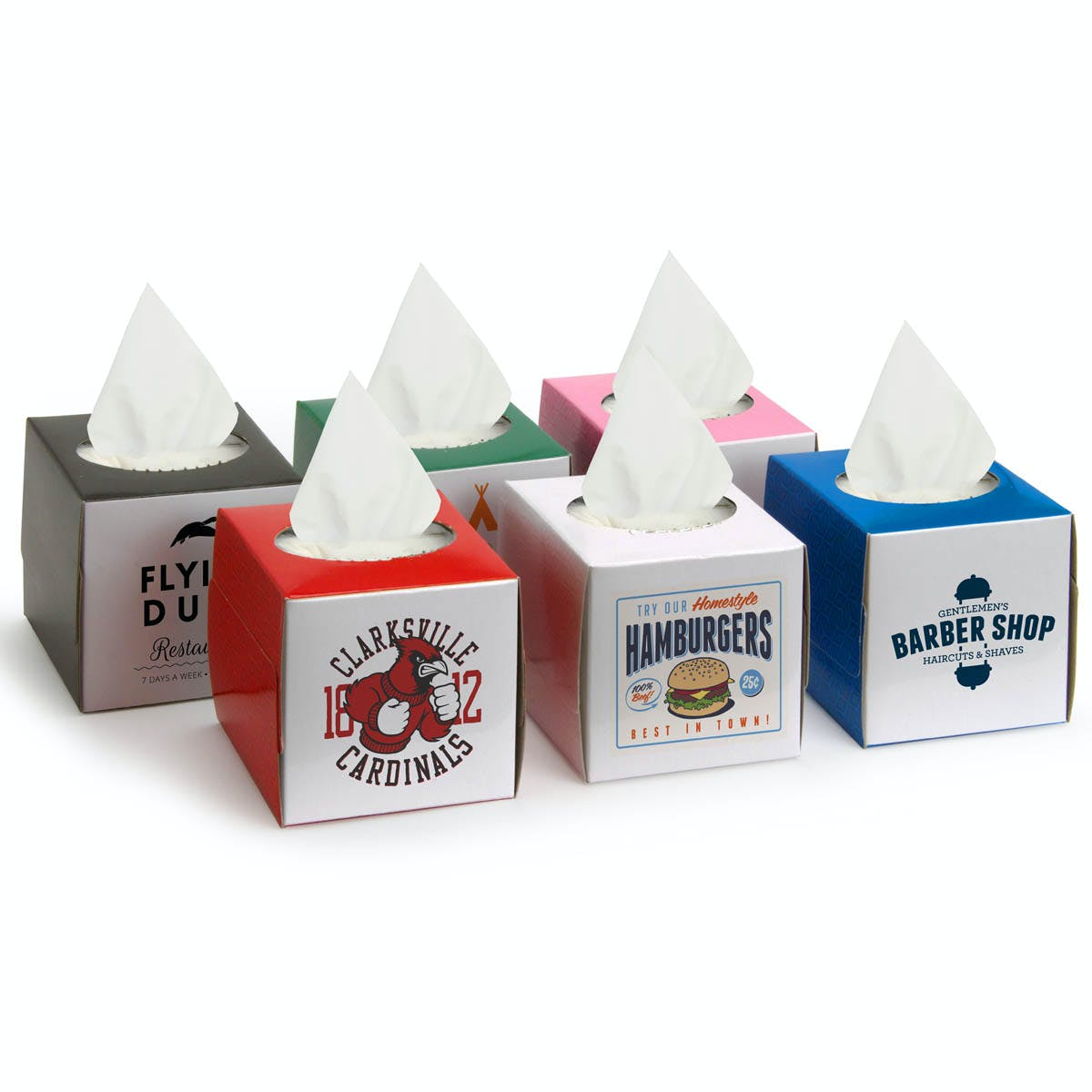 Small Tissue Box (Item # PBFHP-JFLDQ) Promotional Paper Product sold by InkEasy