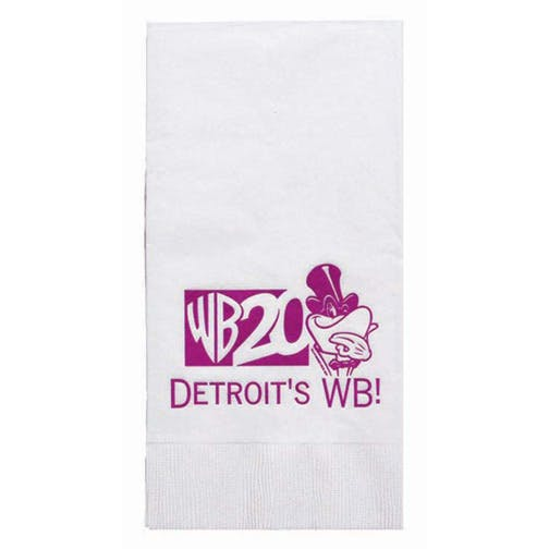 Napkins, 3-Ply White NapkinsHL5DN8, White Dinner, 1/8 Fold Napkin sold by Distrimatics, USA
