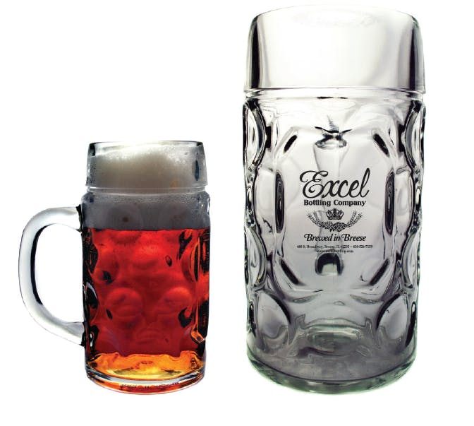 16.9 oz Oktoberfest Mug Beer glass sold by Prestige Glassware