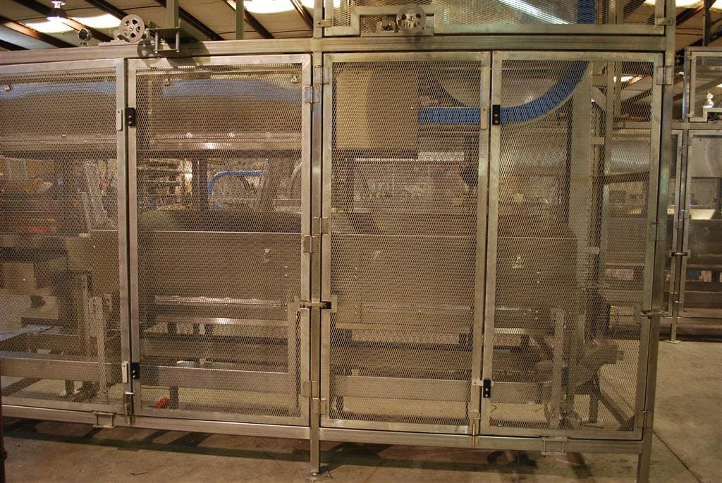 Steam Tunnel Bottle washer sold by Alliance Industrial Corporation