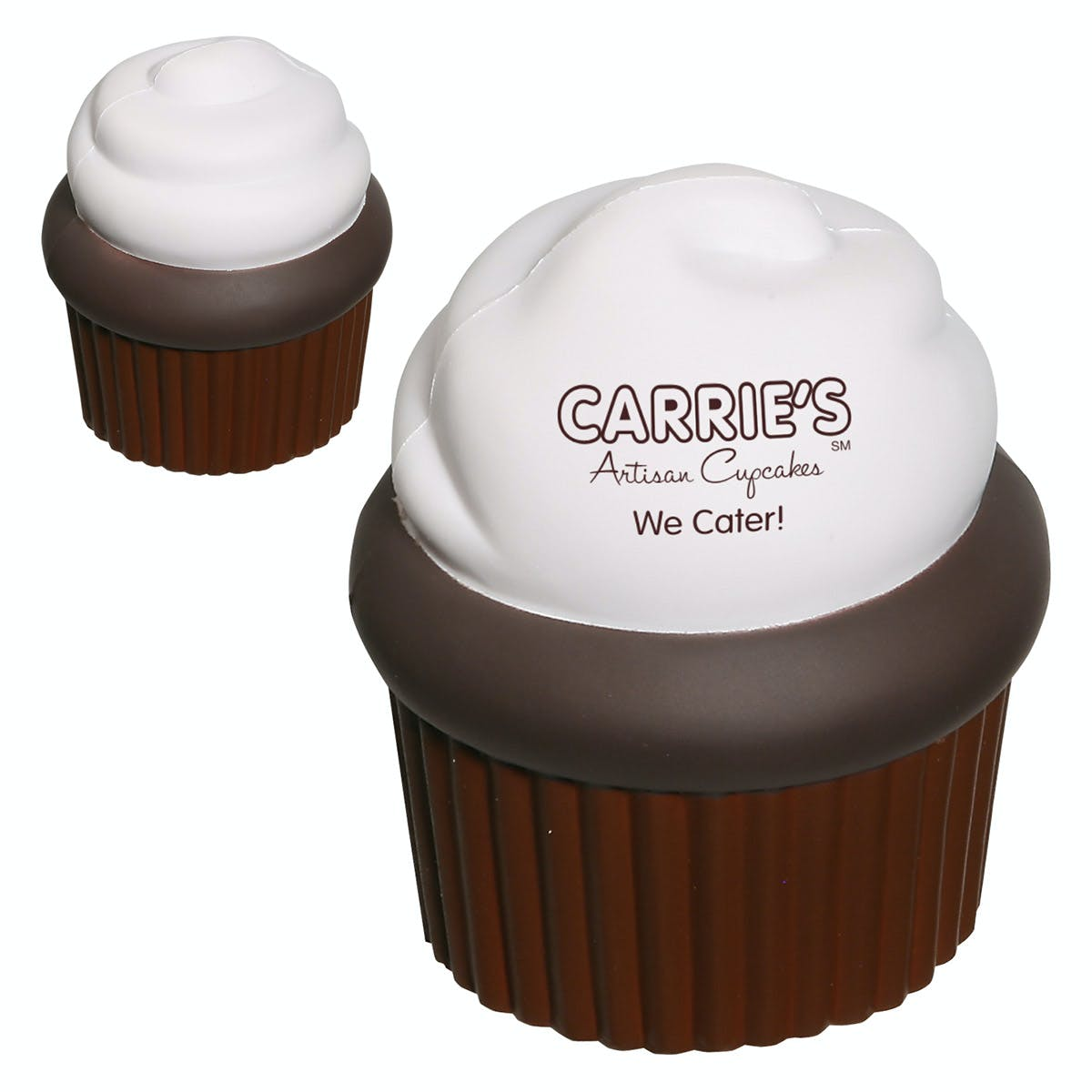 Ariel :: Cupcake - LFD-CP11 Stress reliever sold by Distrimatics, USA