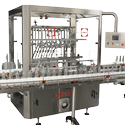 Capmatic Versafill In-Line Liquid Pressure Filler - Bottle filler sold by Capmatic