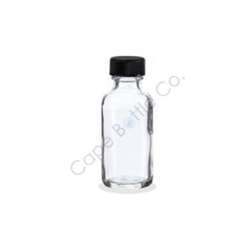 Flint Boston rounds Glass bottle sold by Cape Bottle Company, Inc.