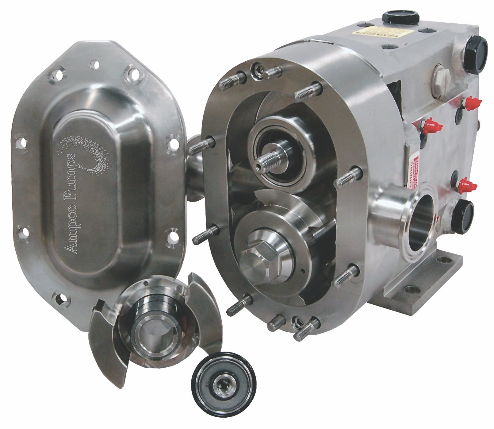 ZP Series positive displacement pumps  Sanitary pump sold by Ampco Pumps Co.