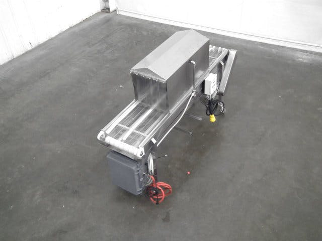 Used Innovative Cleaning Systems DS3 Cleaning Conveyor Conveyor sold by Sigma Packaging
