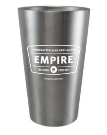 18 oz Double Wall Stainless Pint Stainless steel mug sold by Luscan Group