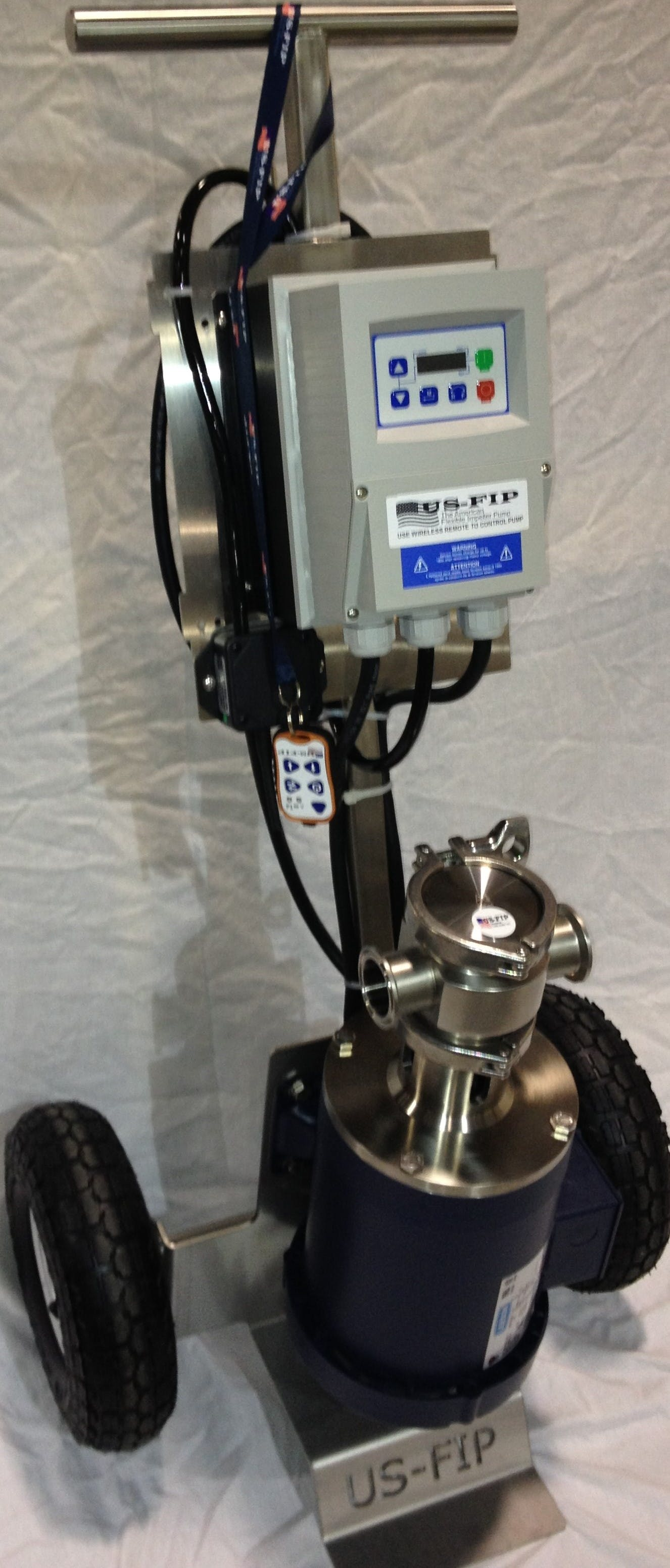 "US-FIP model 15130 (1.5"" 1.5"") Wine pump sold by McFinn Technologies, LLC"