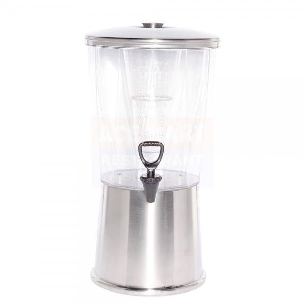 3 gal. Round Clear Infuser Beverage Dispenser