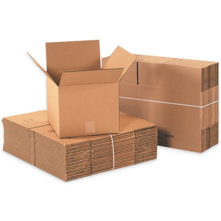 Economy Kraft Packing Boxes Kraft packaging sold by Ameripak, Inc.