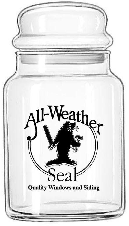 31 oz. Dome Lid Candy Jar Promotional product sold by Prestige Glassware