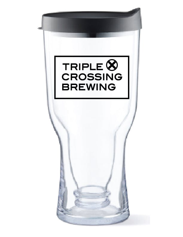 Brew2Go - 18 oz Double Wall Acrylic Beer Tumbler Beer glass sold by ARTon Products