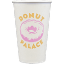 16 oz. Custom Disposable Paper Cups - Disposable cup sold by Cup of Arms