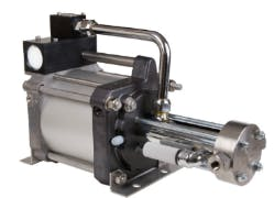 Maximator DLE2-1 Air Driven Gas Booster Air compressor sold by High Pressure Technologies