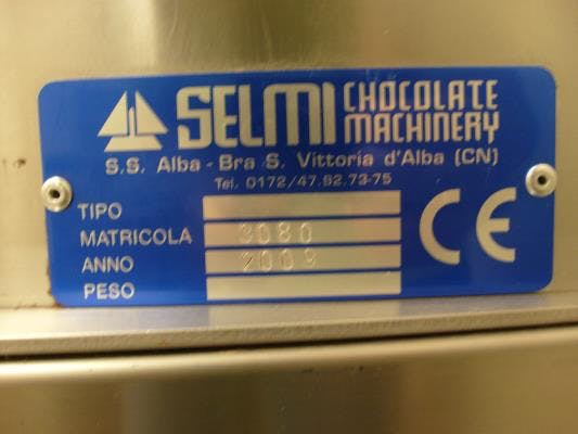 Selmi Plus Tempering Unit Chocolate temperer sold by Union Standard Equipment Co