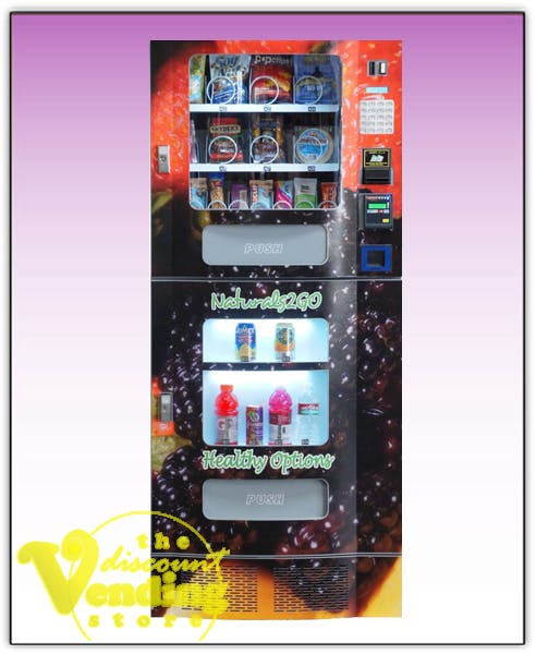 Fortune Resources NV-2020 Healthy Combo Vending Machine Vending machine sold by The Discount Vending Store