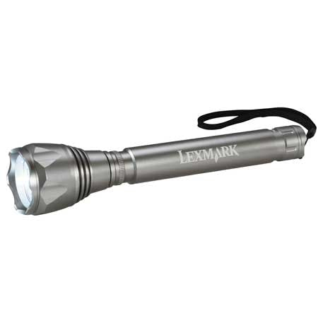 Mega Tactical Dual Output CREE 3W Flashlight - 1225-90 - Leeds Promotional flashlight sold by Distrimatics, USA