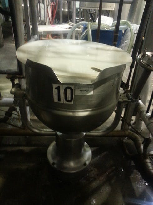 Rotating Jacketed tank - 100 liters (26 gallons) Food tank sold by Aevos Equipment