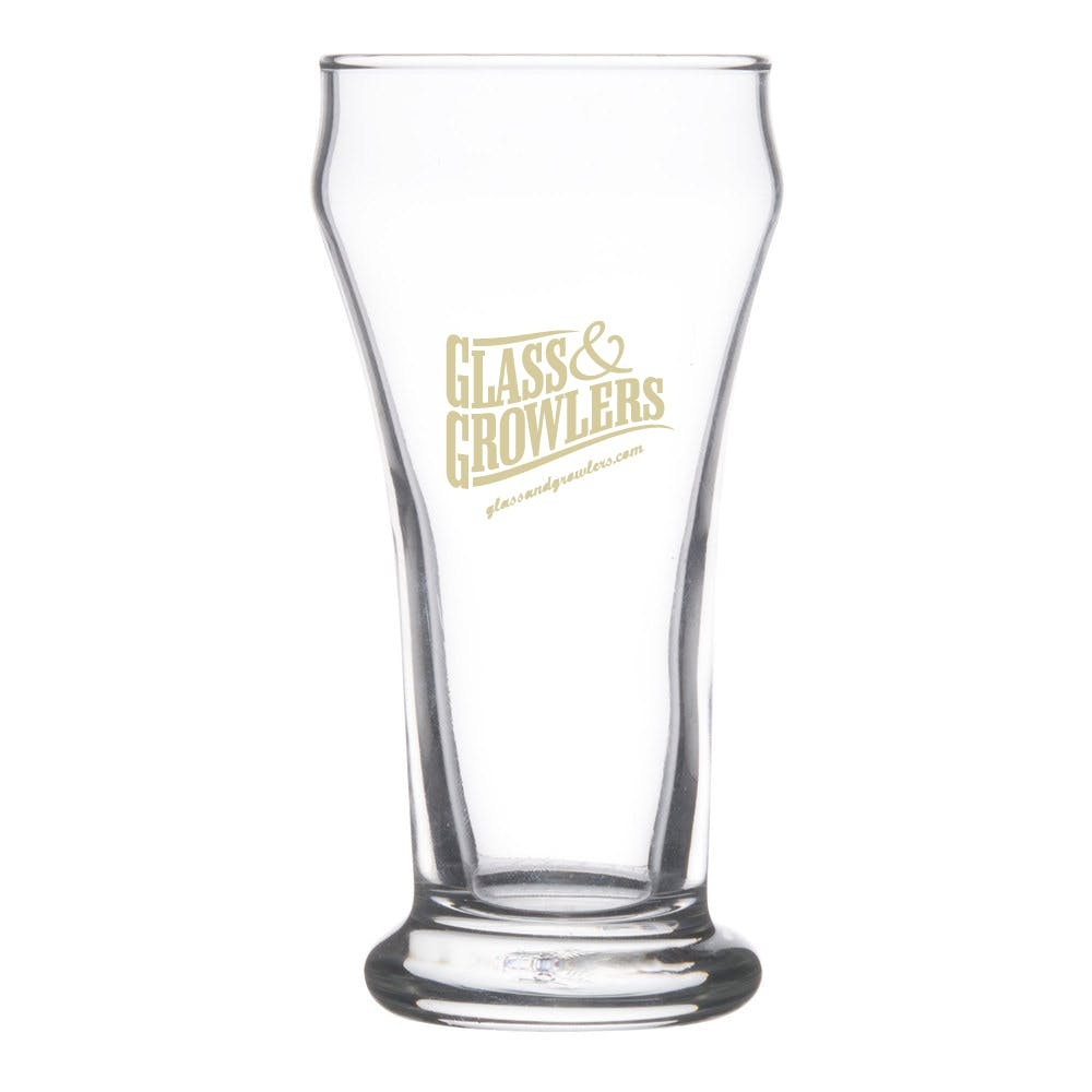 16 Pilsner 6 oz Beer glass sold by Glass and Growlers