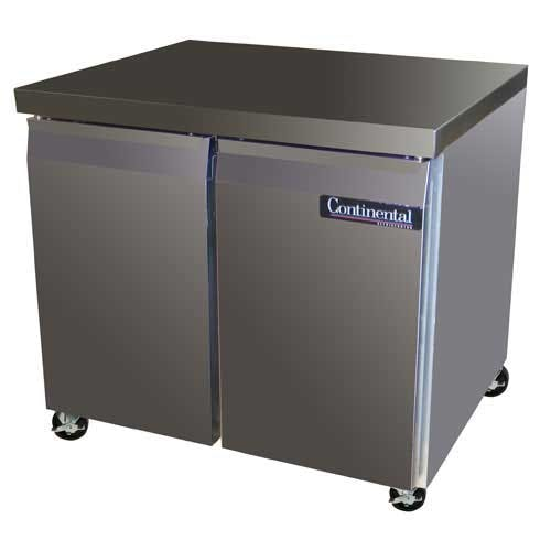 "Continental Refrigerator - SW36 36"" Worktop Refrigerator Commercial refrigerator sold by Food Service Warehouse"