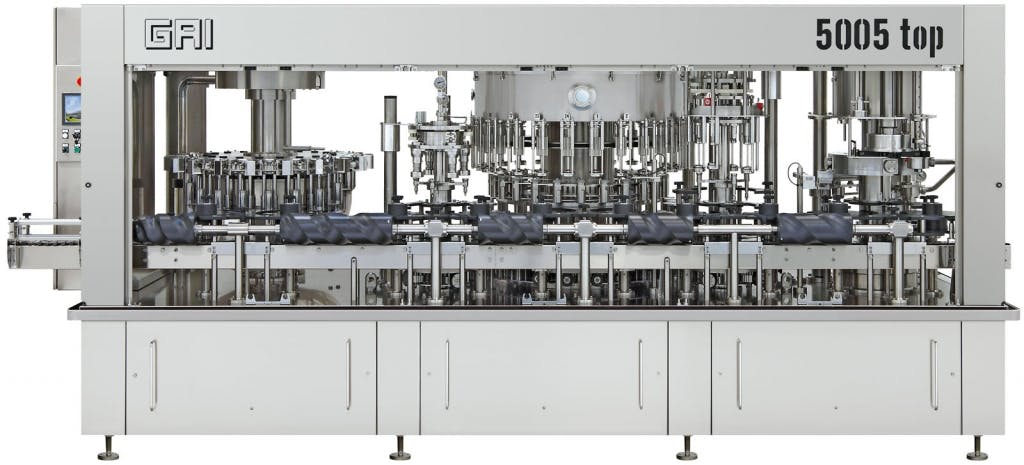 GAI 5005 top Bottling machinery Bottling machinery sold by Prospero Equipment Corp.