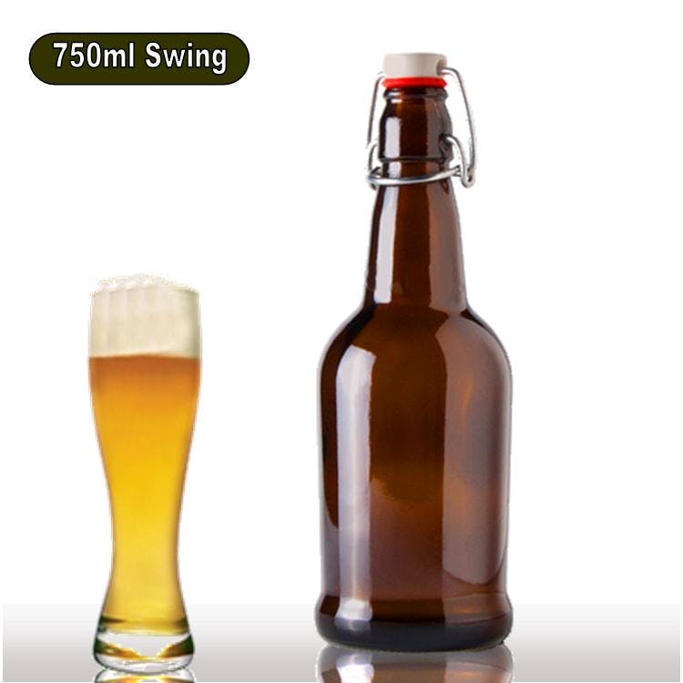 32 oz Flip Top Growler sold by Wholesale Bottles USA