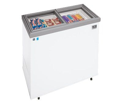 Kelvinator KCNF160QW Ice Cream Display (16 cu ft capacity) Ice cream dipping cabinet sold by pizzaovens.com